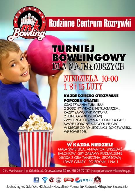 Turniej Bowlingowy dla najmłodszych