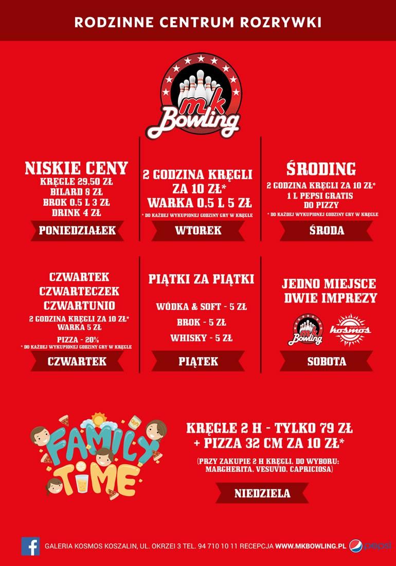 Promocje w MK Bowling
