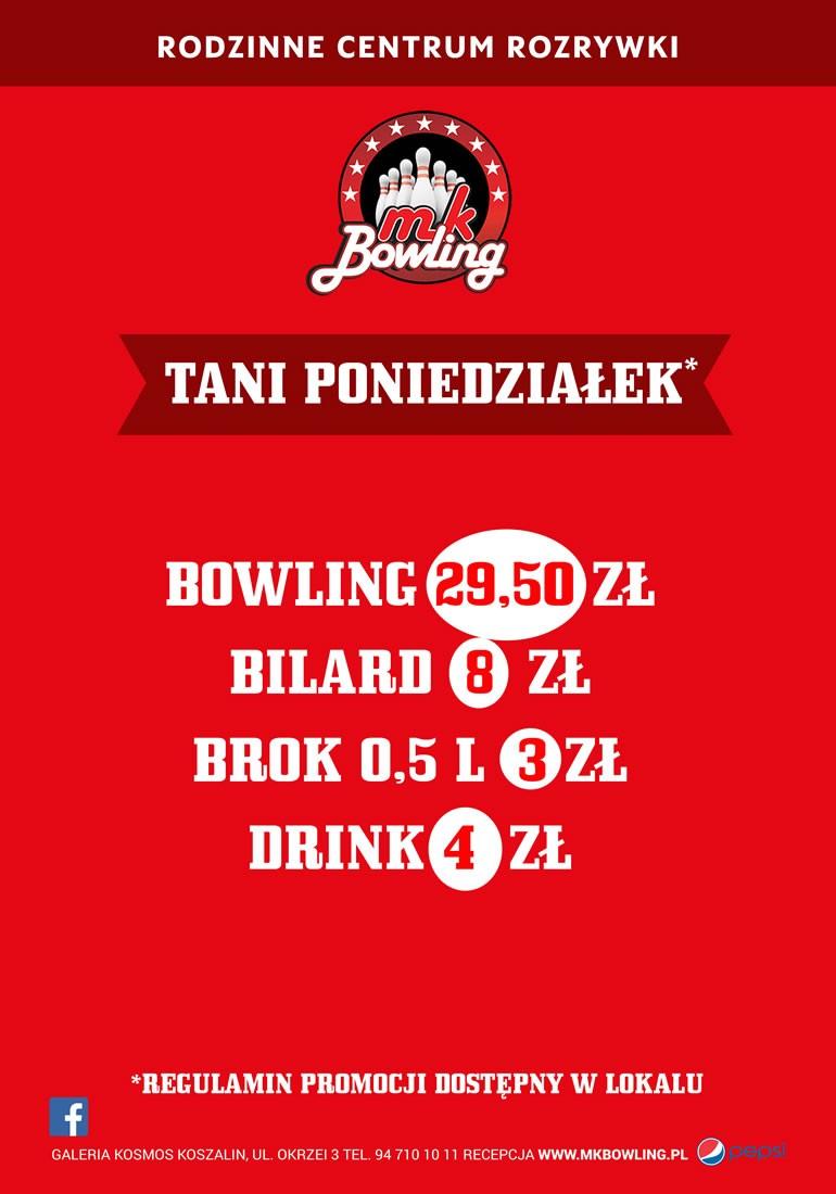 Poniedziałek w MK Bowling