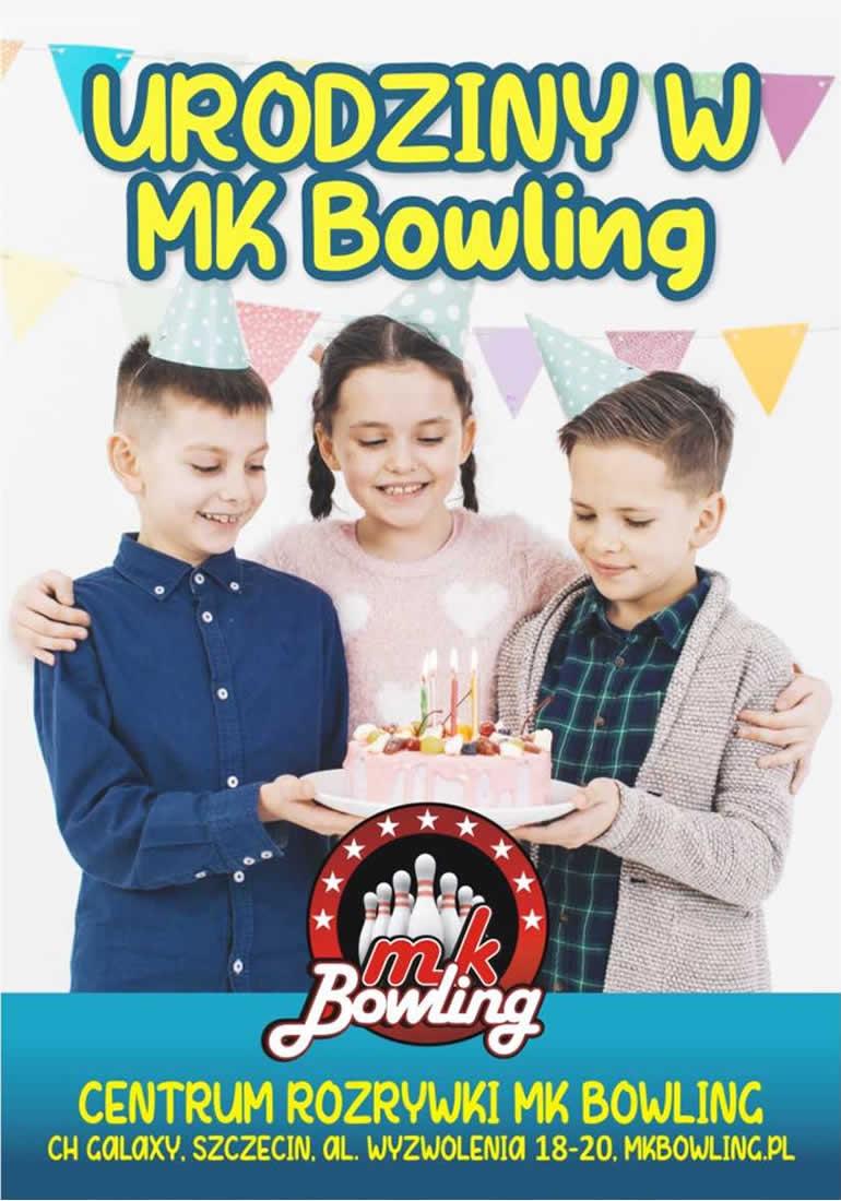Urodziny w MK Bowling - pakiet Mini